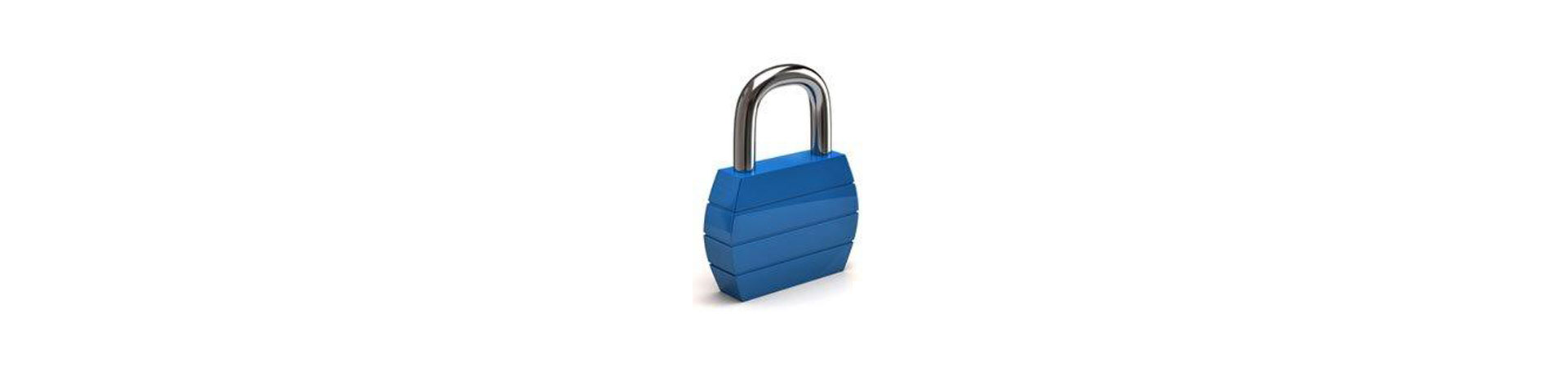 IT Security, padlock Image