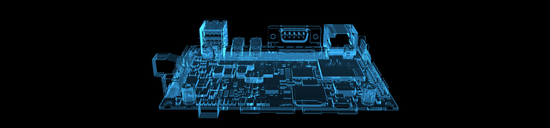Motherboard x-ray