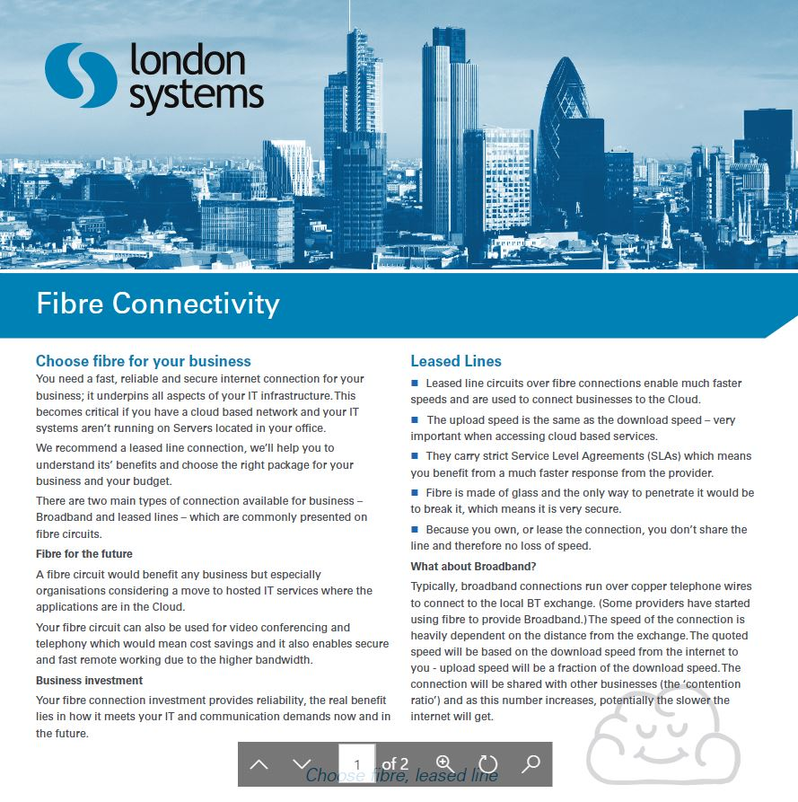 Fibre connectivity